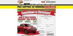 Bass Pro Shop Giveaway - 10 holiday sweepstakes to enter while you are waiting for santa