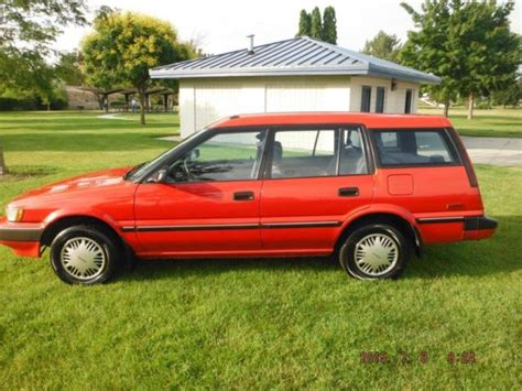 Toyota All Trac 1991 Toyota Corolla All Trac 4x4 Wagon Immaculate 1