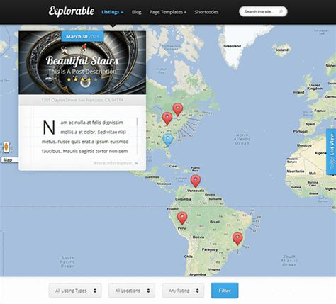 themes wordpress google maps 11 of the best wordpress map themes down