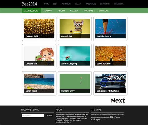 themes gallery free download 30 best gallery style blog templates themes free
