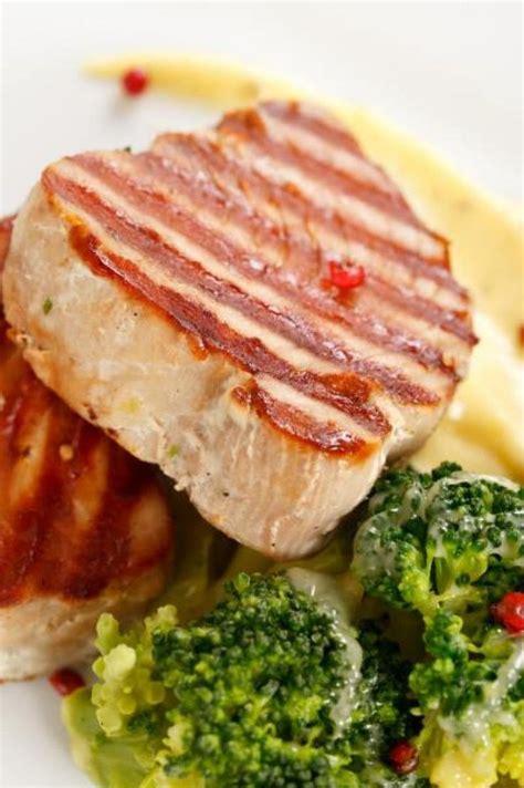 teriyaki grilled tuna steak food and drinks pinterest