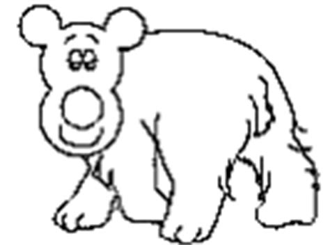 dltk bear coloring pages polar bear crafts