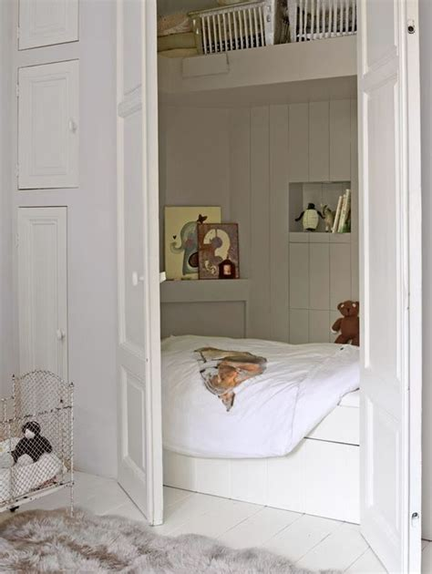 bed in a closet a bed in a closet dutch bed i think that s what it s