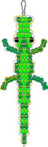 alligator bead pattern crocodile pony bead pattern pony bead patterns to try