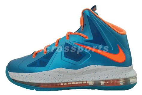 youth lebron basketball shoes nike lebron x 10 gs blue turquoise orange youth