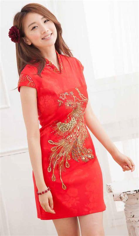 Baju Dres baju dress cheongsam wanita imlek 2014 model terbaru