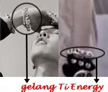 Gelang Artis Korea obat herbal china tiens jual gelang titanium ti energy