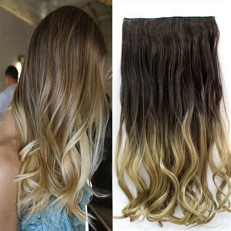 women hair extensions phoenix arizona fashion women long 24 quot 60cm 5 clip in on curly wavy hair