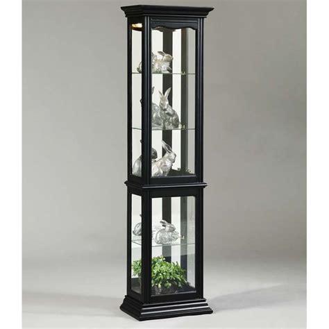 Chiro Cabinet by Pulaski Black Curio Cabinet Ebay
