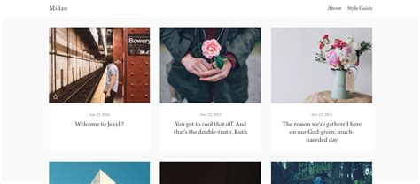 jekyll layout for blog 20 jekyll themes for building fully functional websites
