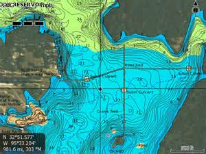 map of lake fork lake fork map general equipment discussion