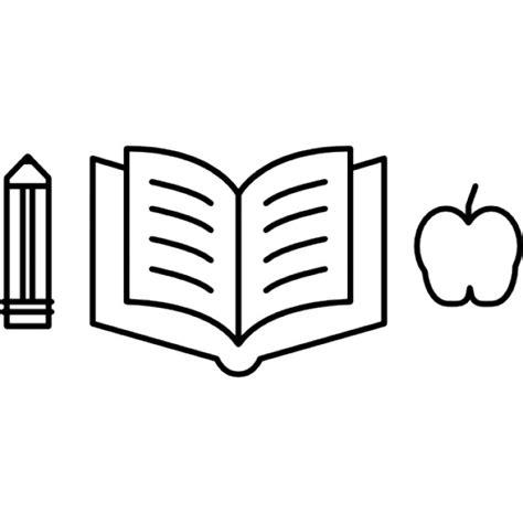 dibujo de libros y manzana para colorear dibujos net l 225 piz con un libro abierto y la silueta de la manzana