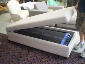 Ottoman Sofa Bed Ottoman With Fold Out Bed Jaro Upholstery Melbourne Phillip Island Se Melbourne Pakenham