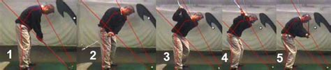 reverse slot golf swing my daily swing the modern total body golf swing backswing