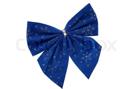 blue christmas bows stock photo colourbox
