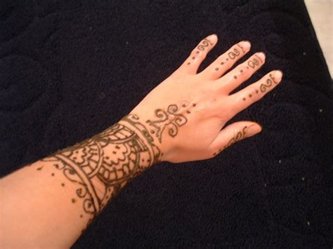 front wrist tattoos henna wrist by finny91 on deviantart