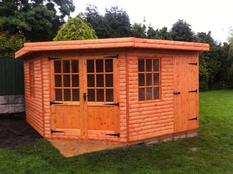 Summer Shed by Shed King Liverpool Sheds Timber Buildings Garden
