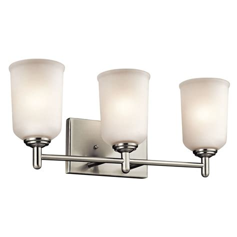 Kichler Lighting Bathroom Lighting Kichler Lighting Shailene Bathroom Light 45574ni Destination Lighting