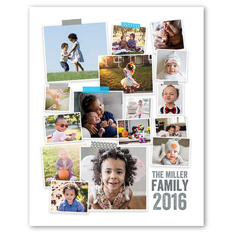 20x30 collage template washi collage shutterfly