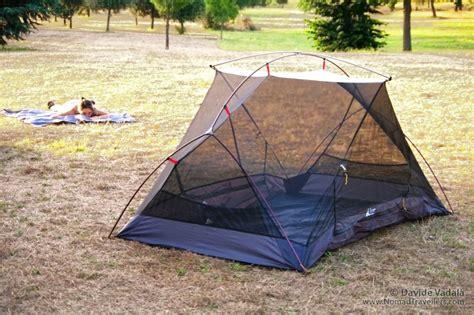 Tenda Luxe Habitat Nx light 2 person tent luxe outdoor habitat review nomad travellers
