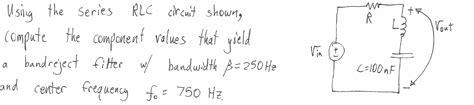 high pass filter time series a series rc high pass filter has c 1 mu f compu chegg