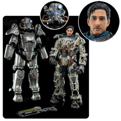 figure fallout 4 fallout 4 t 45 power armor 1 6 scale figure