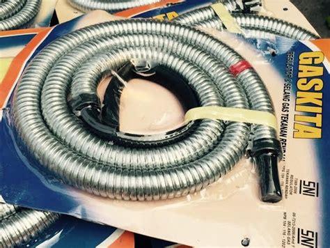 Selang Pompa Standar waspada selang kompor gas berlogo sni tak dijamin aman