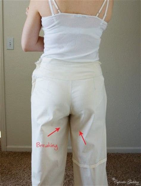 jeans pattern alteration how to fix pants quot problems quot mostly when making your own