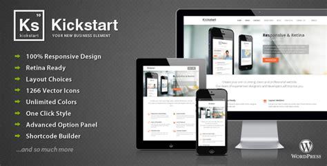 themeforest kickstart kickstart v2 8 8 retina responsive multi purpose theme