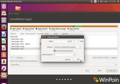 tutorial dual boot windows 10 ubuntu cara dual boot ubuntu 16 04 lts dan windows 10 full