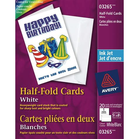hp matte greeting cards white half fold template avery white half fold greeting cards grand