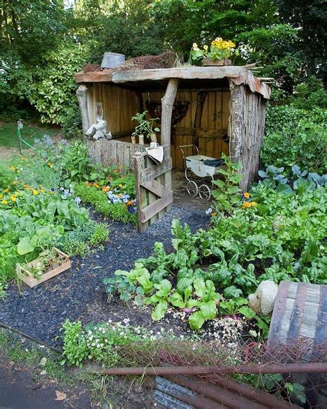 cute garden cute rustic garden shed for the garden pinterest