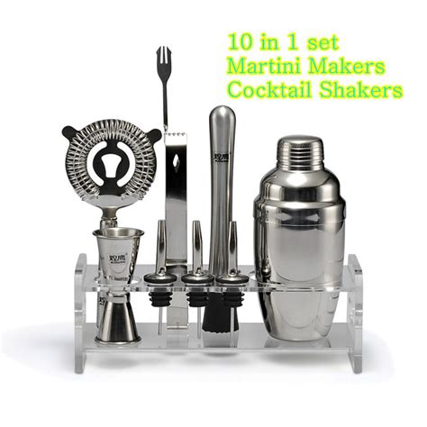 cocktail set stainless steel cocktail shaker set japanese style shaker