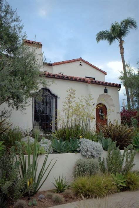 spanish colonial revival terraced spanish colonial revival house garden i love