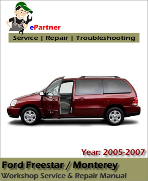 electric and cars manual 2006 ford freestar parental controls ford freestar 2005 2006 2007 workshop repair manual car service