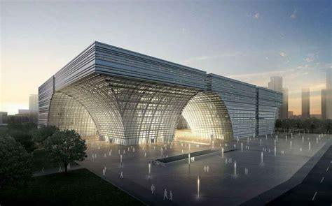building new home design center forum changzhou culture center southern china building e