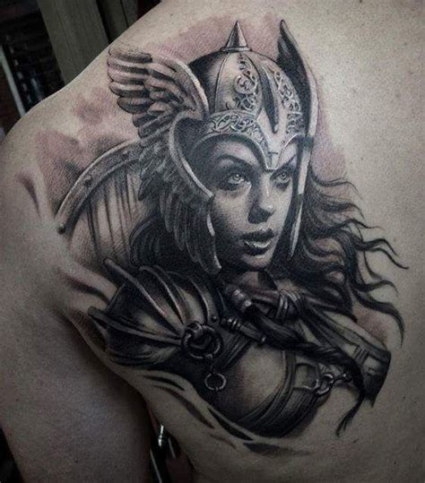 female warrior tattoo designs 25 best valkyrie ideas on norse