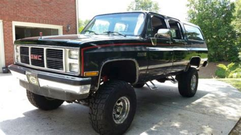 find  lifted  gmc suburban  wheels  tires