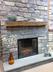 Blue Mantle Fireplaces by Quarry Cut Fireplace Surround Barn Beam