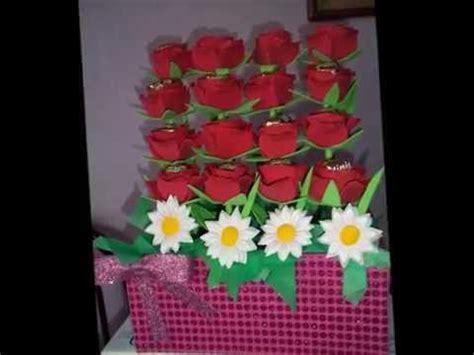 arreglos de boda para mesa hechos de foami imagui arreglo de rosas con chocolate dentro hechas de foami