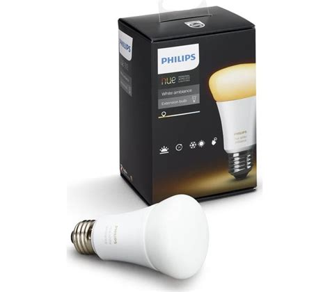 Philips Hue L buy philips hue white ambiance wireless bulb e27 free delivery currys