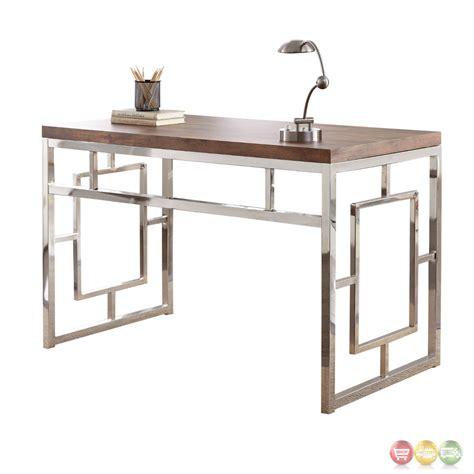 chrome office desk chrome office desk office desk giorgia white chrome