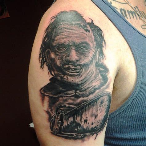 saw tattoo designs 6 amazing leatherface designs