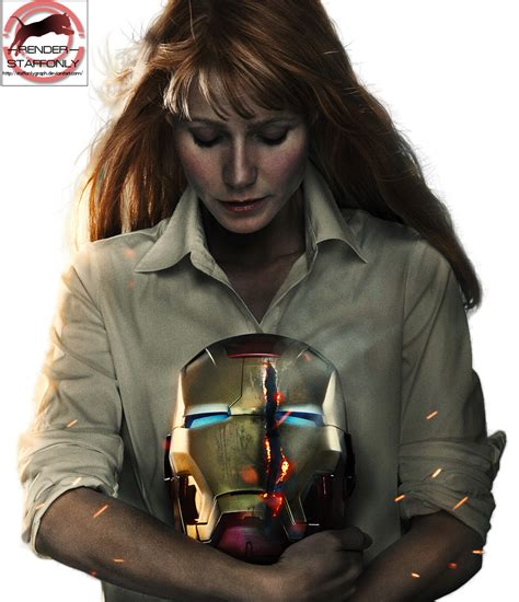 iron 3 pepper potts render by staffonlygraph on