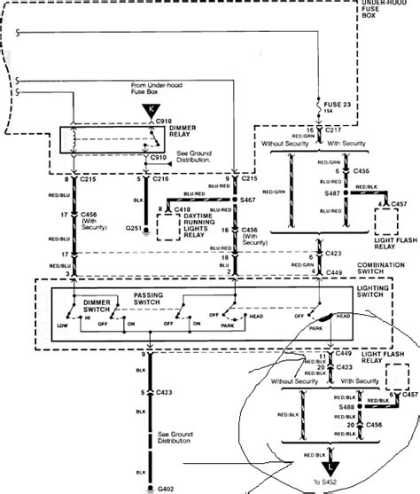 1987 Honda Accord Stereo Wiring Diagram