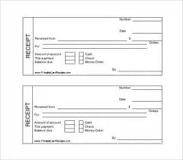 Receipt Template Free Printable by Receipt Template 122 Free Printable Word Excel Pdf