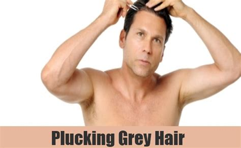 Plucking Your Hair by How To Get Rid Of Grey Hair In Ways To Get Rid Of
