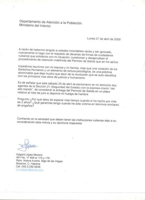 ejemplos de cartas para inmigracion ejemplos de carta para inmigracion peticion pictures to
