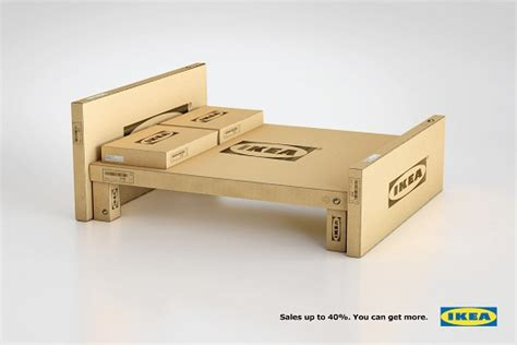 ikea creates furniture out of its own cardboard boxes psfk