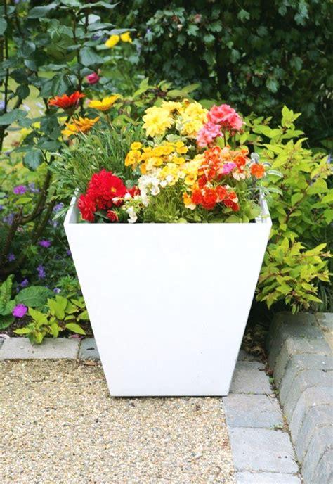 Artstone Planters Uk by White Ella Artstone Planter With Drainage System